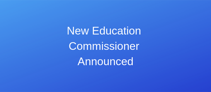 New Commissioner at MDOE