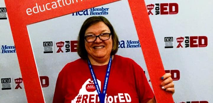 Maine Educators Join Thousands of other educators at the NEA Representative Assembly